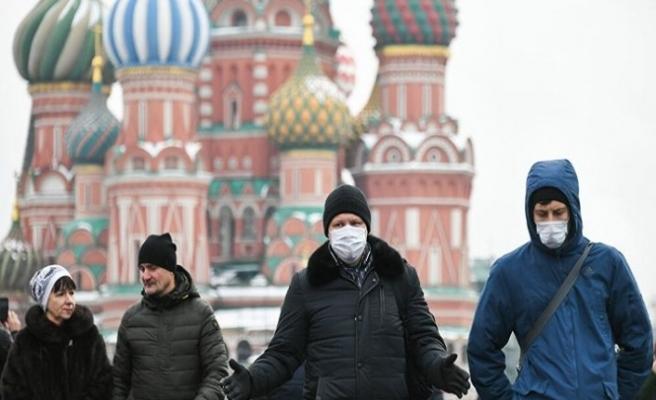 Rusya'da Kovid-19 vaka sayısı 654 bini geçti