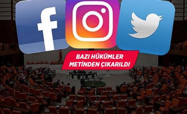Sosyal medya düzenlemesine muhalefet ayarı