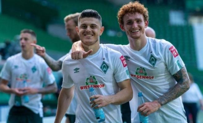 Werder Bremen ligde kaldı