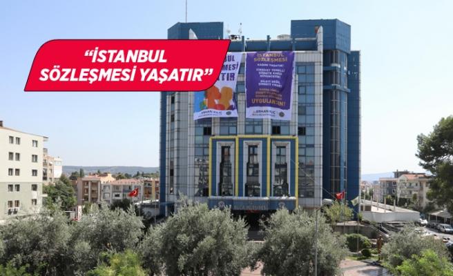 """Buca """"İstanbul Sözleşmesi"""" için tek ses"""