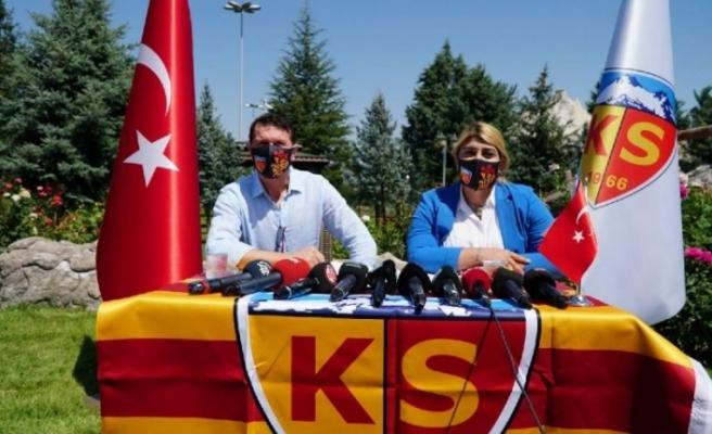 Kayserispor Bayram Bektaş ile 3 yıllık sözleşme imzaladı