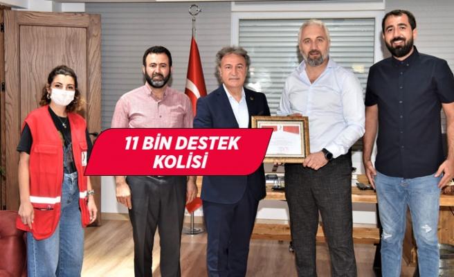 Kızılay'dan Bornova'ya teşekkür