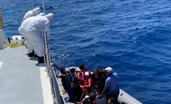 Muğla'da 37 sığınmacı yakalandı