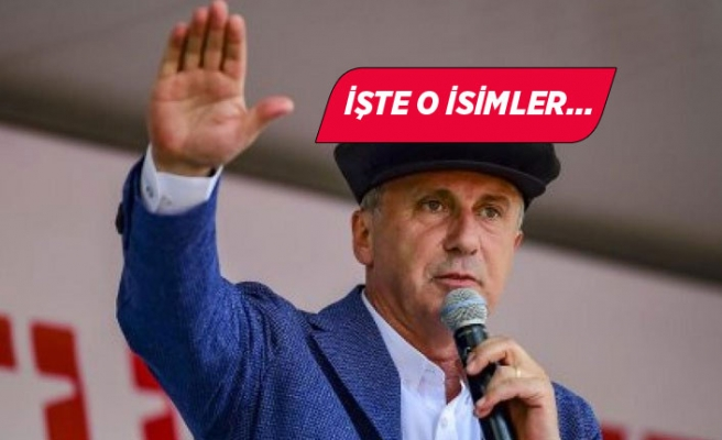 Muharrem İnce'nin kuracağı iddia edilen parti için üç isim önerisi