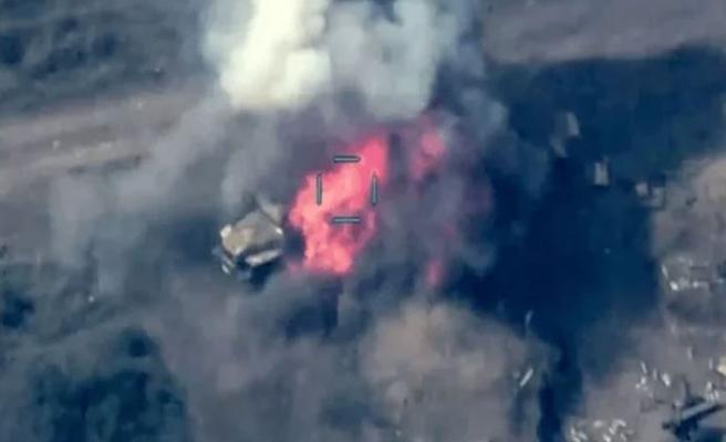Ermenistan'a ait iki savaş uçağı düştü