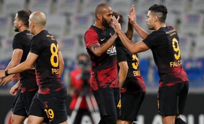 Galatasaray'ın kozları Falcao, Belhanda ve Arda