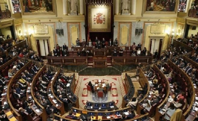 İspanya'da öneri Mecliste reddedildi