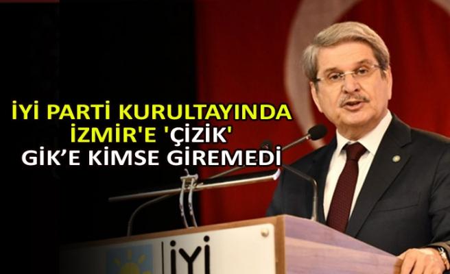 İYİ Parti kurultayında İzmir'e 'çizik'