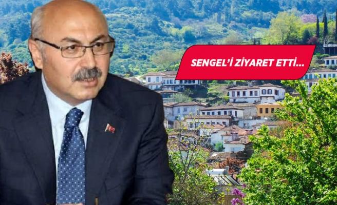 İzmir Valisi Köşger, Selçuk'ta incelemelerde bulundu