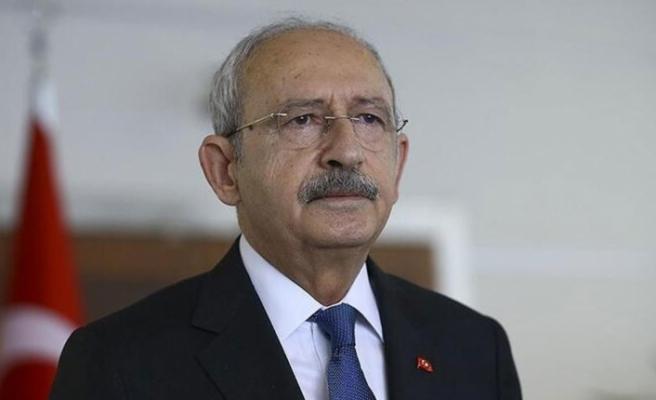 """Kılıçdaroğlu: """"Sağlık emekçilerine ve Türk Tabipleri Birliğine şükran borçluyuz"""""""
