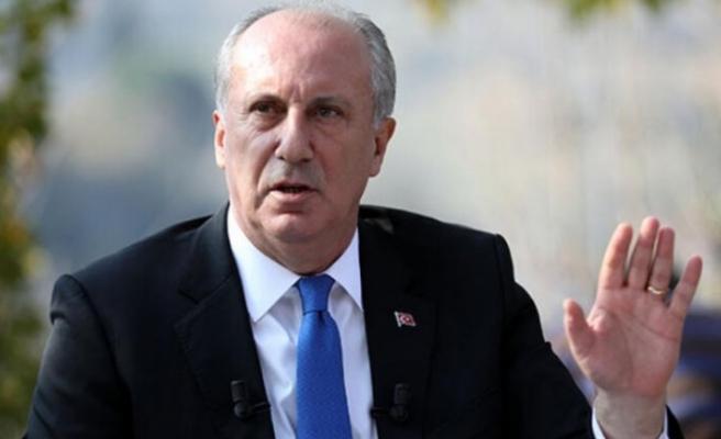 Muharrem İnce: CHP'nin adayına göre karar vereceğim