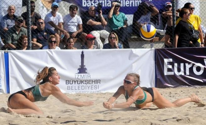 Plaj voleybolunun en iyileri İzmir'e geliyor