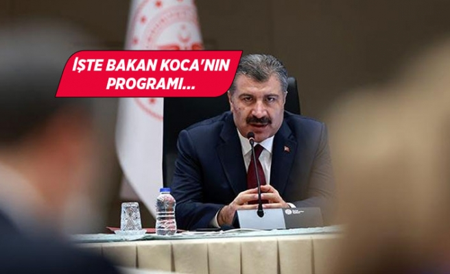 Sağlık Bakanı Koca, İzmir'e geliyor