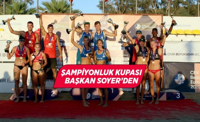 U-22 Avrupa Plaj Voleybol Şampiyonası sona erdi