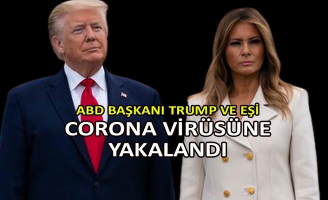 ABD Başkanı Trump ve eşi corona virüsüne yakalandı