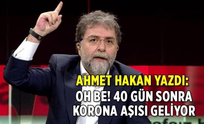 Ahmet Hakan: Nihayet! Sonunda! Yaşasın! Yuppi! Heyyo!