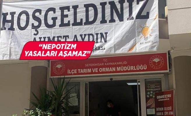 """Bakan: """"Bu kare parti devletinin somutlaşmış halidir"""""""