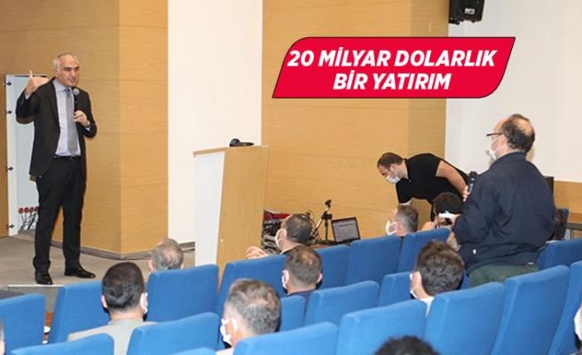 Bakan Ersoy AK Parti İzmir'e Çeşme Projesi'ni anlattı