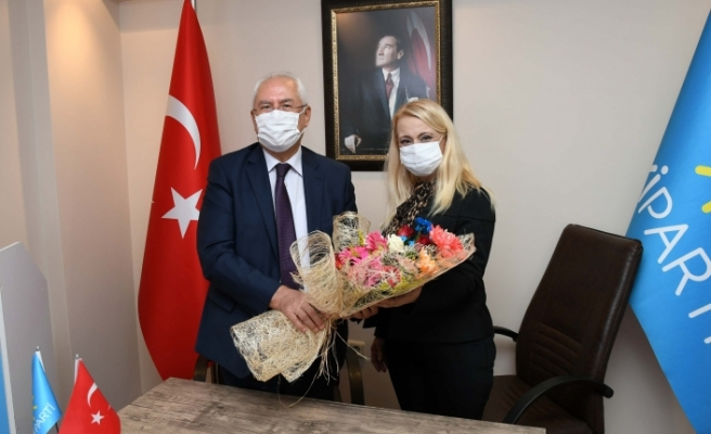 Başkan Selvitopu'dan İYİ Parti'ye ziyaret
