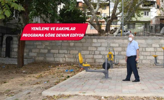 Başkan Selvitopu park çalışmalarını denetledi