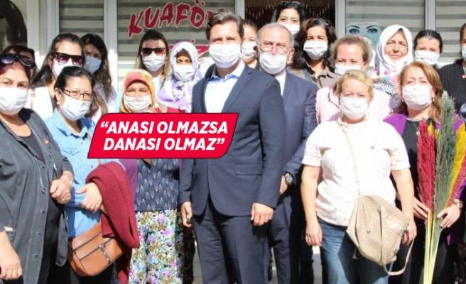 CHP İzmir İl Başkanı Yücel'den kırsalda çarpıcı mesajlar