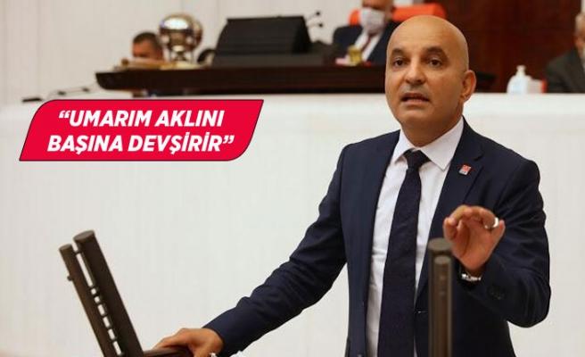 CHP'li Polat'tan DEÜ Rektörü Hotar'a: Akıl tutulması yaşıyor