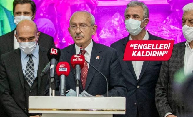 CHP Lideri Kılıçdaroğlu'ndan hükümete çağrı