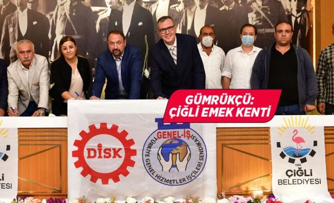 Çiğli Belediyesi'nin kadrolu işçileri için mutlu son