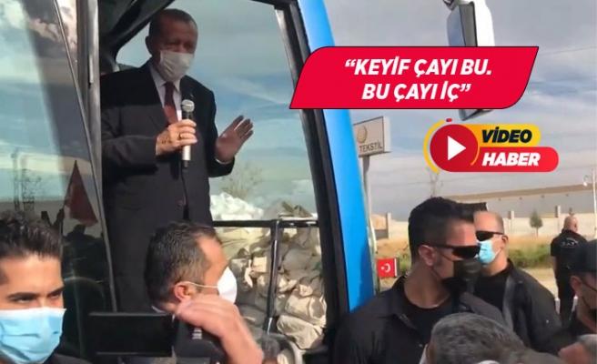 Erdoğandan 'Eve ekmek götüremiyoruz' diyen esnafa: Bu bana çok abartılı geldi