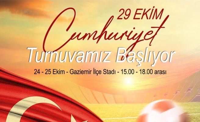 Gaziemir'de Cumhuriyet Turnuvası