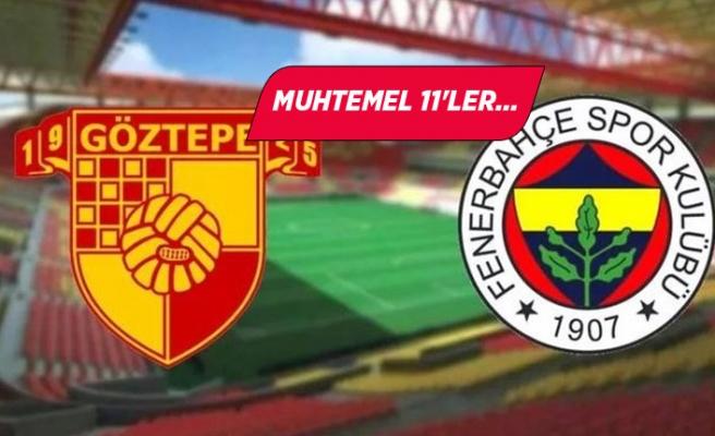 Göztepe- Fenerbaça maçı saat kaçta hangi kanalda canlı?