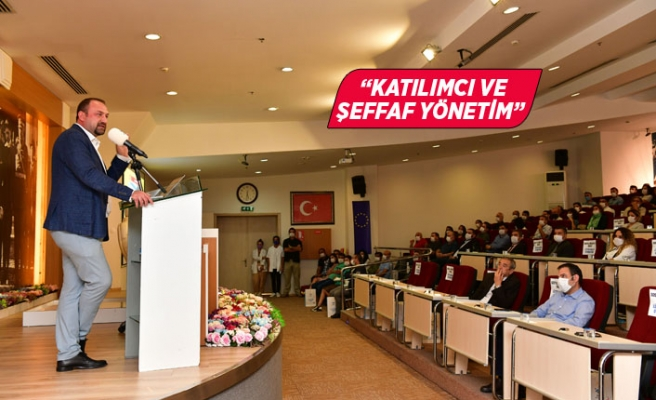 Gümrükçü'den belediye çalışanlarına 500 Gün Sunumu