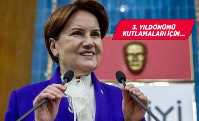 İYİ Parti Lideri İzmir'e geliyor!