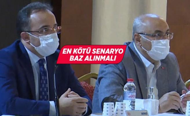 İzmir Afet Müdahale Planı değerlendirme toplantısı yapıldı