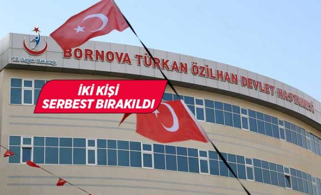 İzmir'de doktoru darbettiği öne sürülen iki kişi serbest bırakıldı