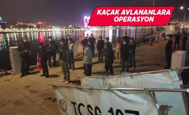 İzmir'de kaçak kum midyesi avcılarına ceza