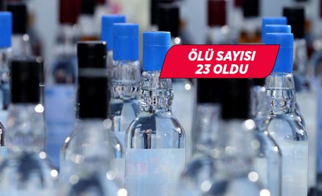 İzmir'de sahte içkiden 1 kişi daha hayatını kaybetti