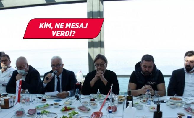 İzmir'deki spor kulüpleri başkanları bir araya geldi