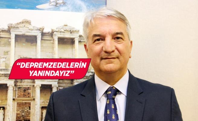 Mehmet İşler: Tesislerimiz İzmir Valiliği'nin emrinde