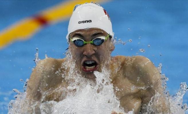 Milli yüzücü Emre Sakçı, Budapeşte'de birinci oldu
