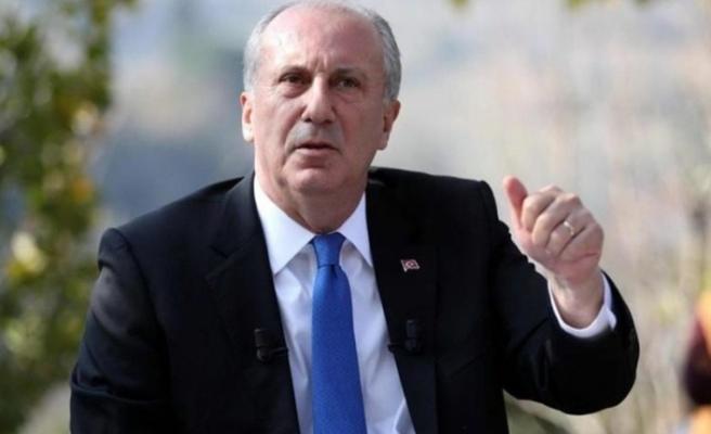 Muharrem İnce: CHP'nin özrü kabahatinden büyük