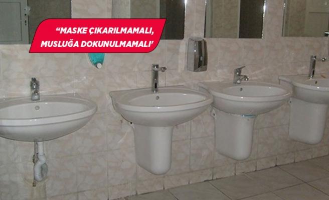 Okullarda korona riski en yüksek bölge tuvaletler