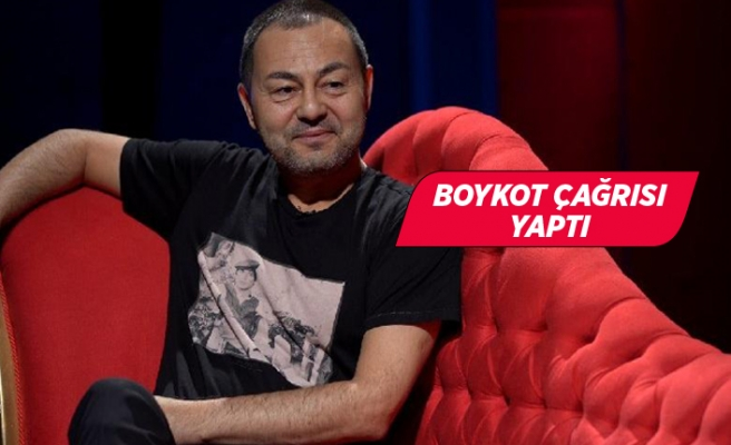 Serdar Ortaç'tan Fransız mallarına boykot çağrısı!