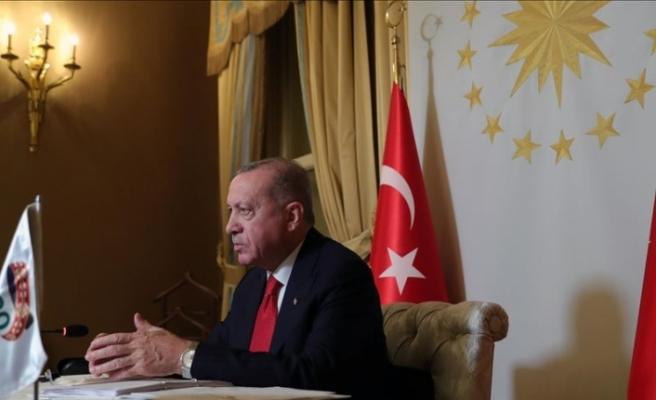 Erdoğan: Geliştirilen aşılar, insanlığın ortak malı olacak şekilde kullanıma sunulmalıdır