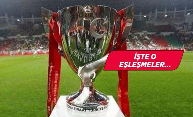 Ziraat Türkiye Kupası'nda 5.tur eşleşmeleri
