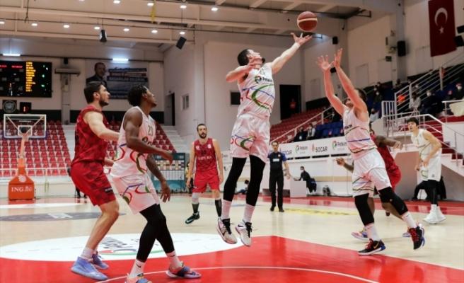 Aliağa Petkimspor: 67 - Empera Halı Gaziantep Basketbol: 66
