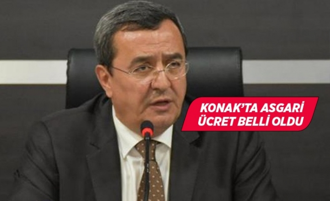 Başkan Batur, uygulayacağı asgari ücreti açıkladı