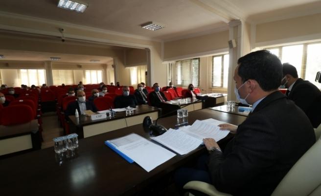 Bergama Belediyesi'nde yılın son meclisi