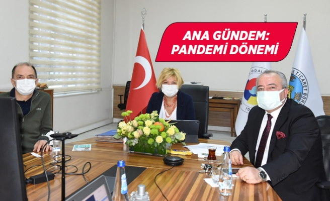 İzmir Ticaret Borsası Kasım Ayı Olağan Meclis Toplantısı yapıldı