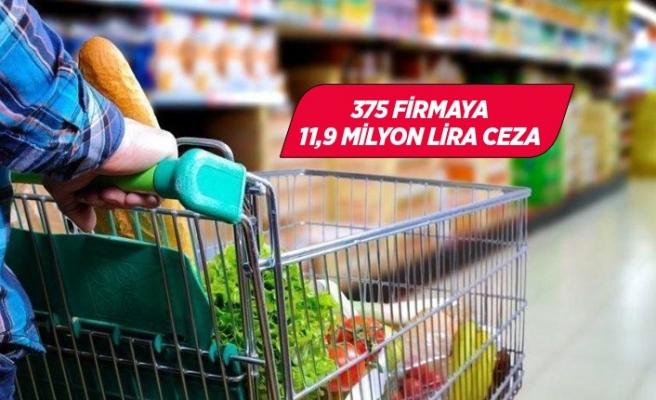 375 firmaya fahiş fiyat cezası